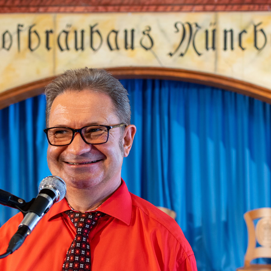 Mister Moskito Alleinunterhalter im Hofbräuhaus München